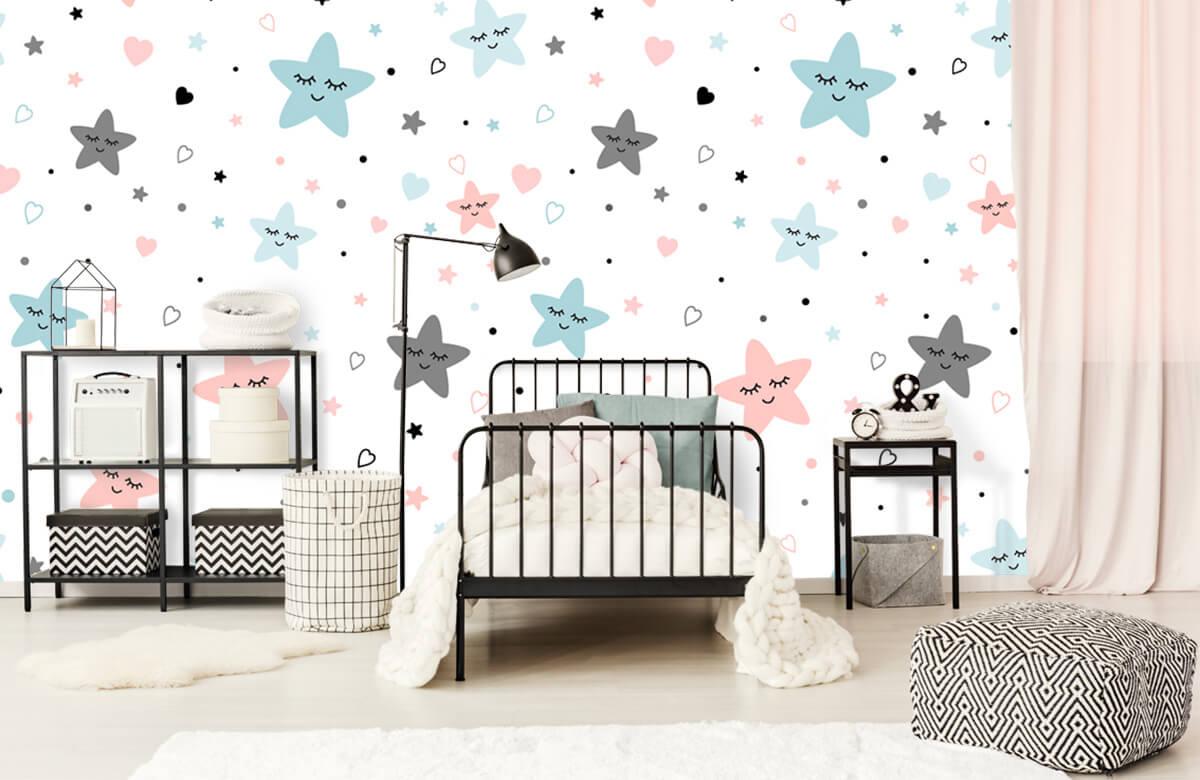 Overige - Slapende sterren - Babykamer 2
