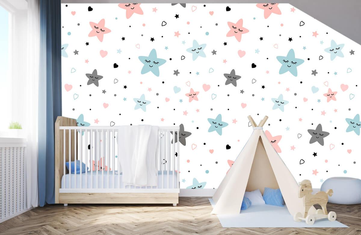 Overige - Slapende sterren - Babykamer 3