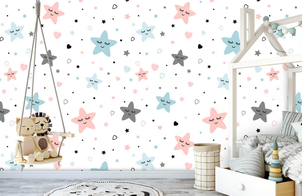 Overige - Slapende sterren - Babykamer 4