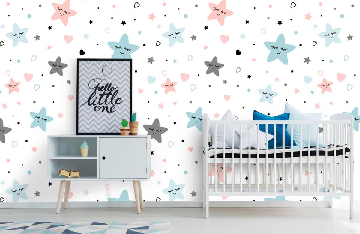 Overige - Slapende sterren - Babykamer 6