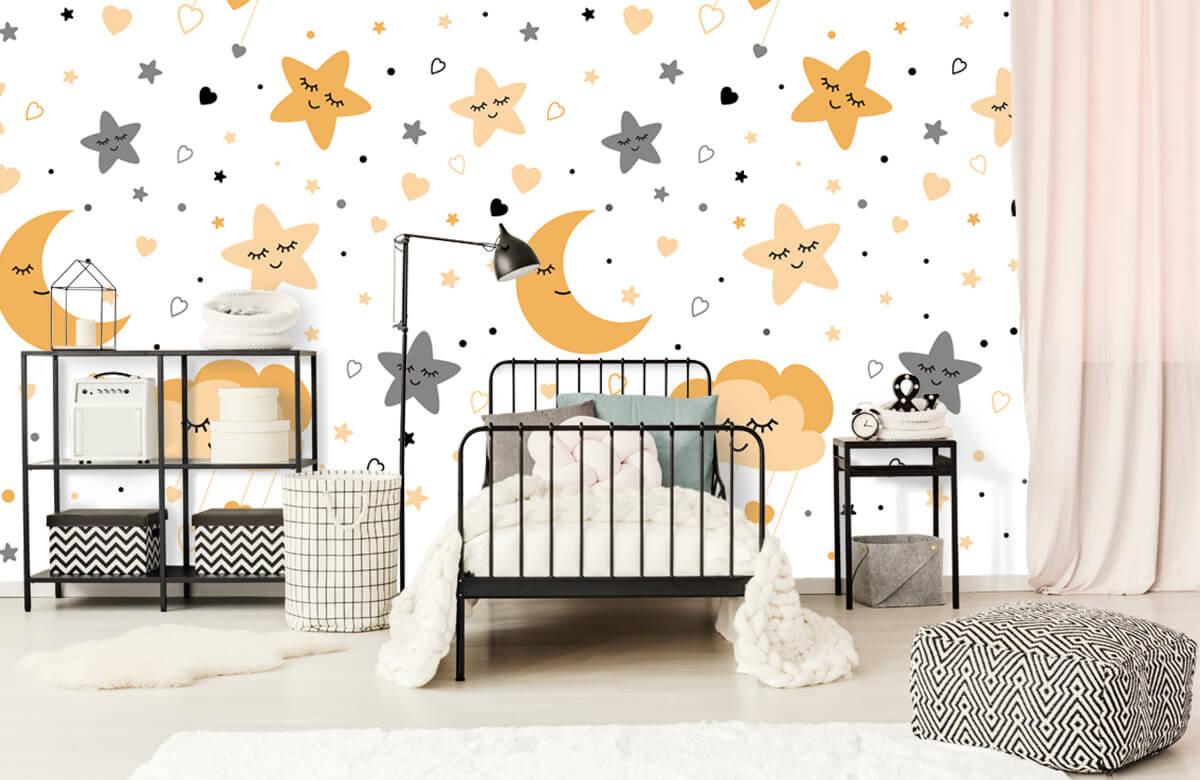 Overige - Wolkjes, manen en sterren - Babykamer 2