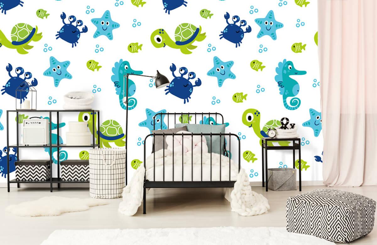 Overige - Onderwater dieren - Babykamer 2