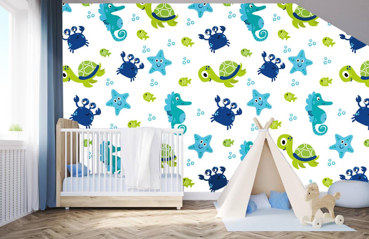 Overige - Onderwater dieren - Babykamer 3