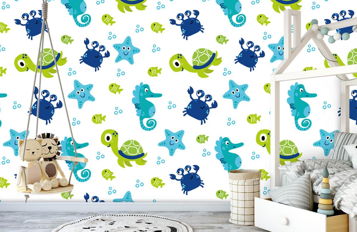 Overige - Onderwater dieren - Babykamer 4
