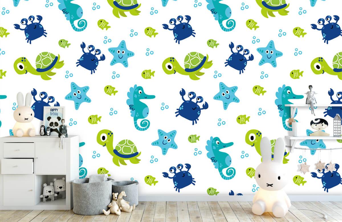 Overige - Onderwater dieren - Babykamer 5