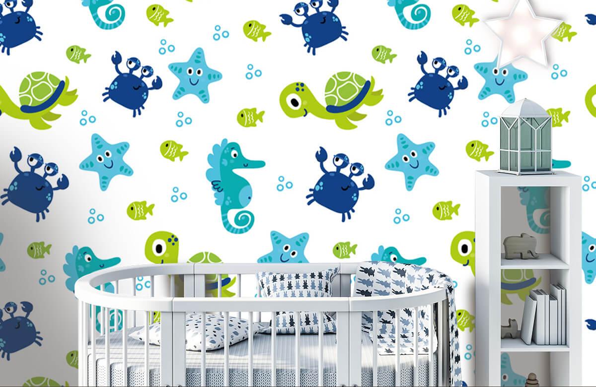 Overige - Onderwater dieren - Babykamer 1