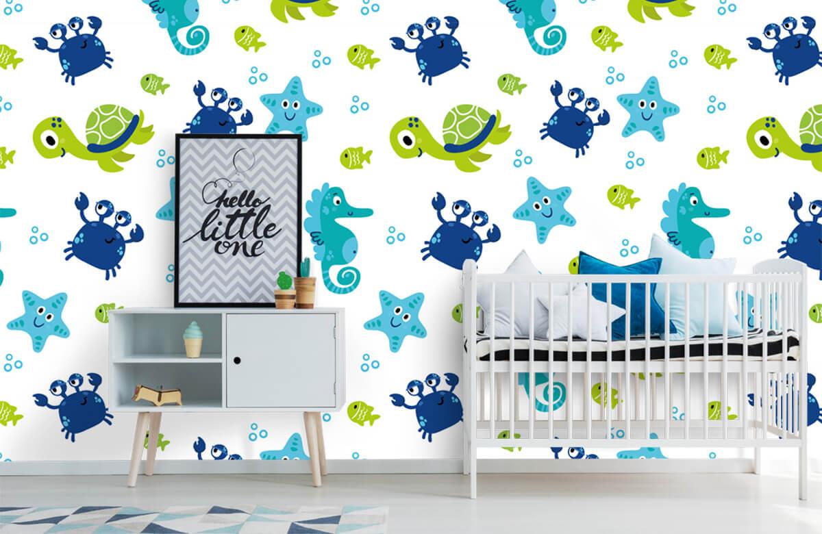 Overige - Onderwater dieren - Babykamer 6