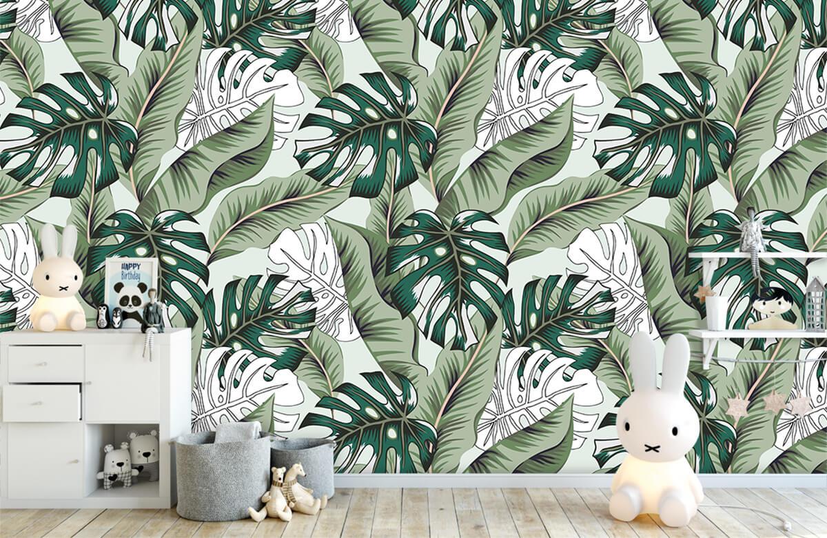 Jungle - Exotische jungle planten - Slaapkamer 4