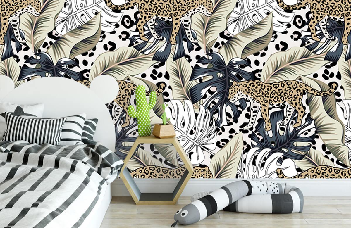 Tijgers & Leeuwen - Tropische tijger - Kinderkamer 2