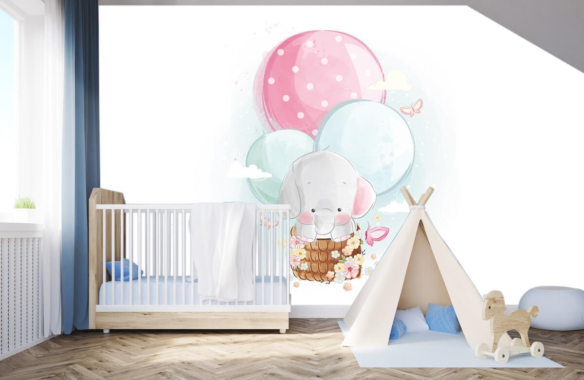 Overige - Olifantje - Kinderkamer 3
