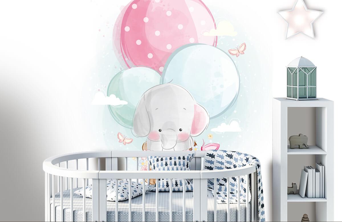 Overige - Olifantje - Kinderkamer 2