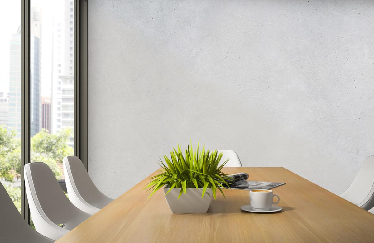 Betonlook behang - Geborsteld beton - Hal 3