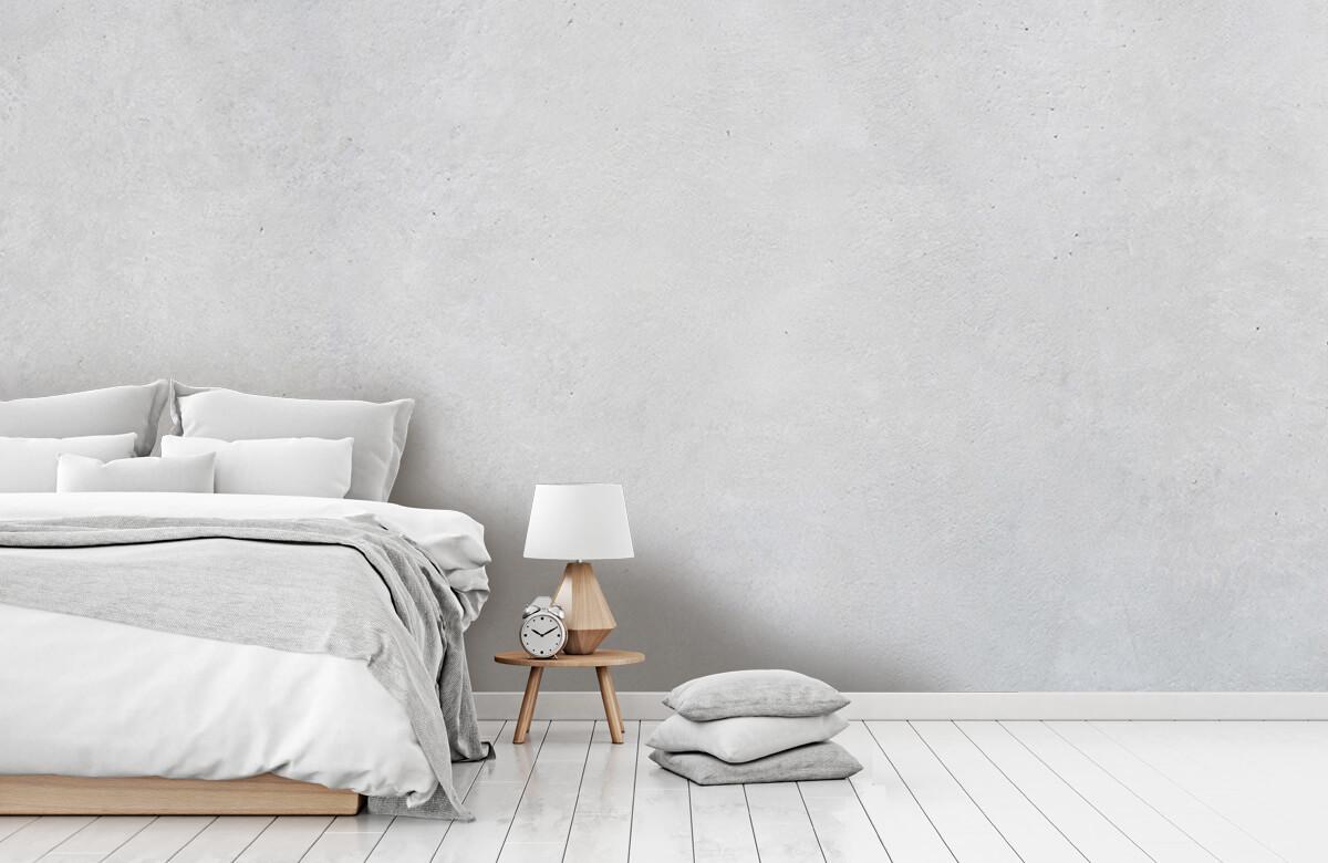 Betonlook behang - Geborsteld beton - Hal 8