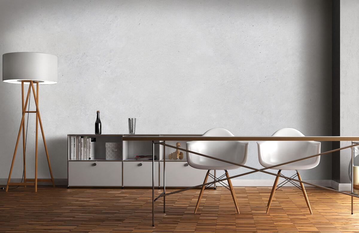Betonlook behang - Geborsteld beton - Hal 1