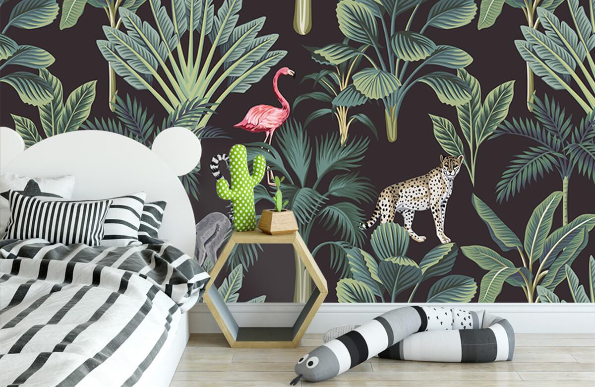 Dieren - Tropische wilde dieren - Tienerkamer 2