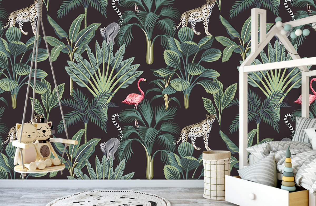 Dieren - Tropische wilde dieren - Tienerkamer 3