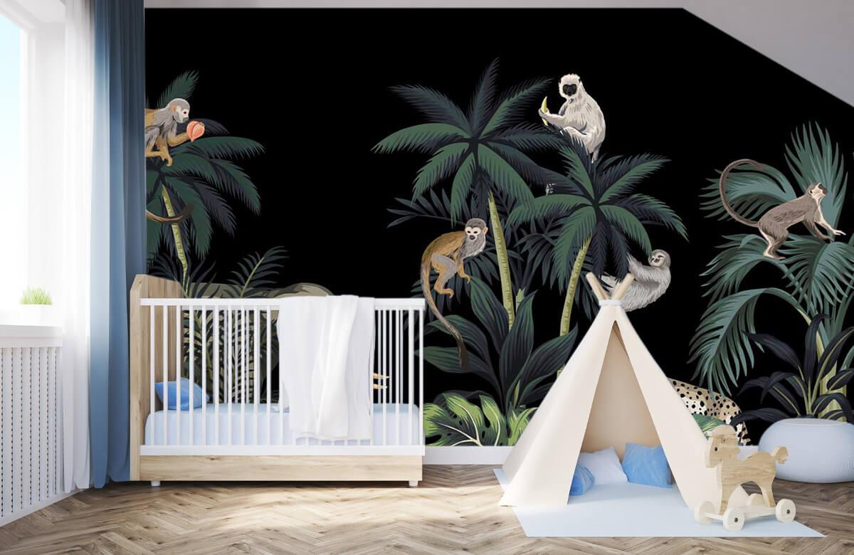 Dieren - Dieren in de jungle - Kinderkamer 3
