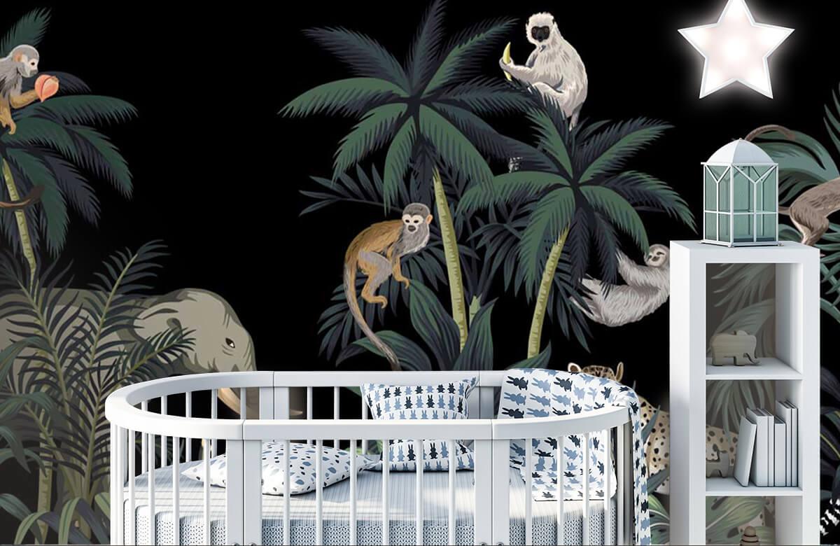 Dieren - Dieren in de jungle - Kinderkamer 5