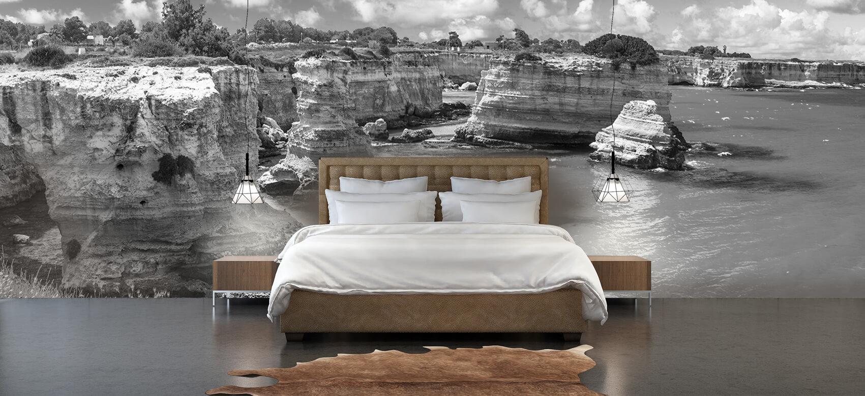 Zomer behang - Rotsformatie aan de kust - Slaapkamer 5