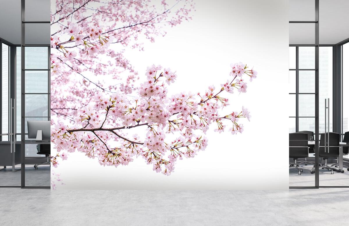 Bloesem - Roze bloesem takken - Woonkamer 4