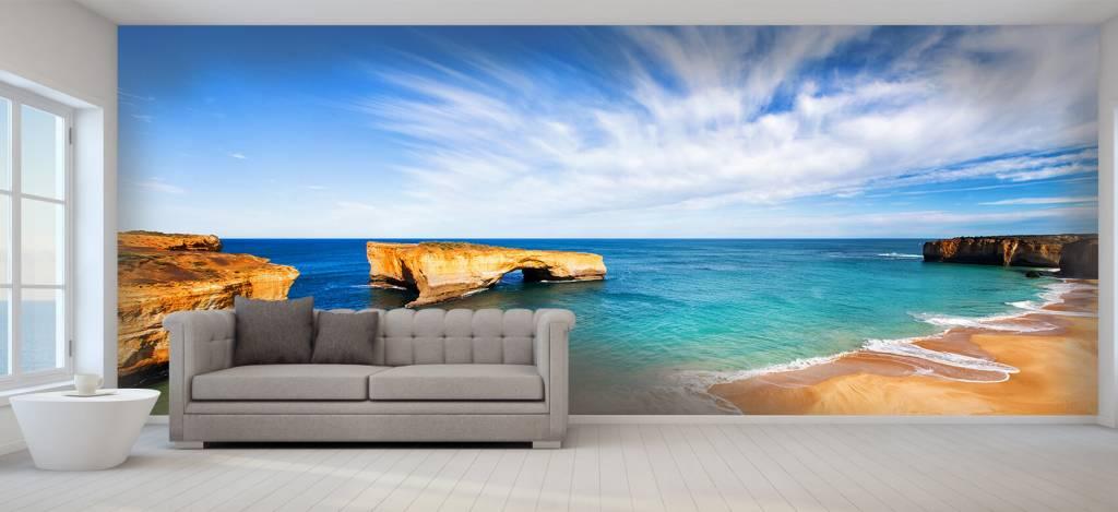 Zeeën en Oceanen - Australisch zeelandschap - Woonkamer 1
