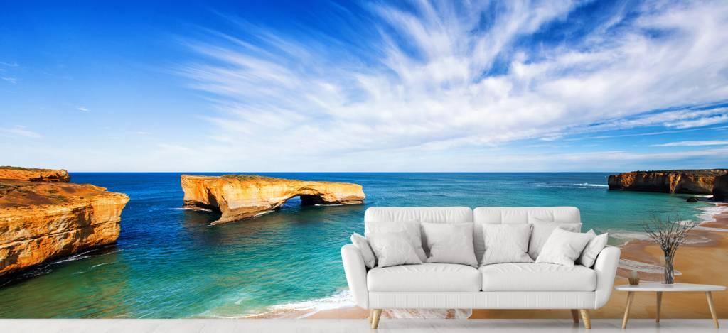 Zeeën en Oceanen - Australisch zeelandschap - Woonkamer 4