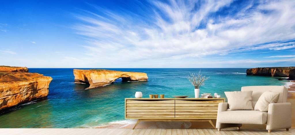 Zeeën en Oceanen - Australisch zeelandschap - Woonkamer 5