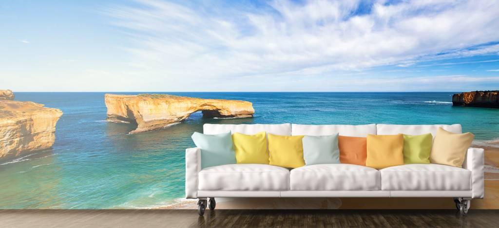 Zeeën en Oceanen - Australisch zeelandschap - Woonkamer 6