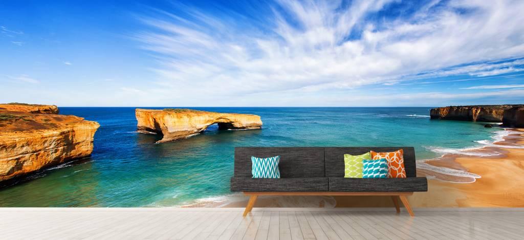 Zeeën en Oceanen - Australisch zeelandschap - Woonkamer 7