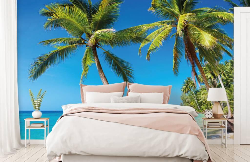 Palmbomen - Caribbean - Slaapkamer 2