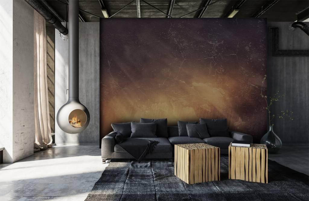 Steen behang - Zonnestralen - Directie 1