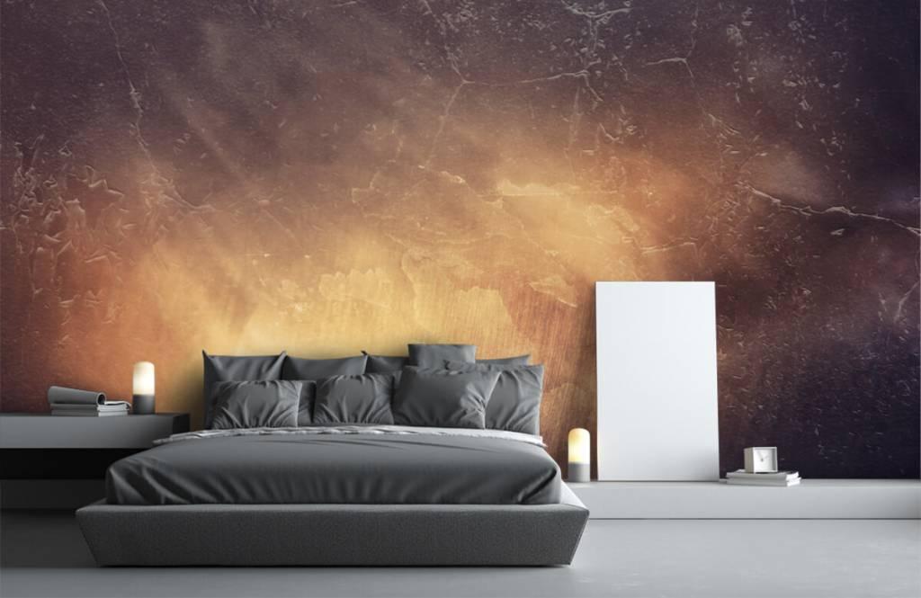 Steen behang - Zonnestralen - Directie 2
