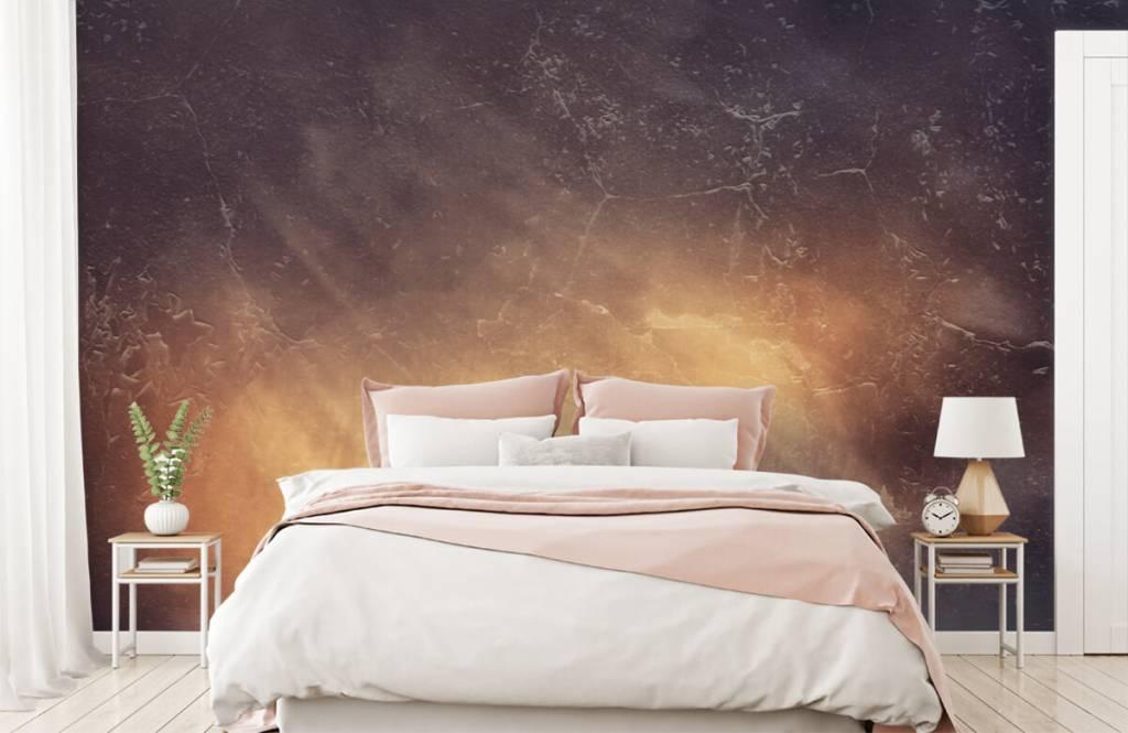 Steen behang - Zonnestralen - Directie 3