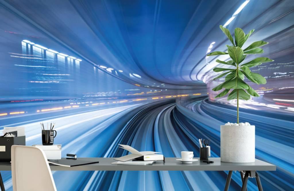 Overige - 3D effect van snelheid - Kantoor 2