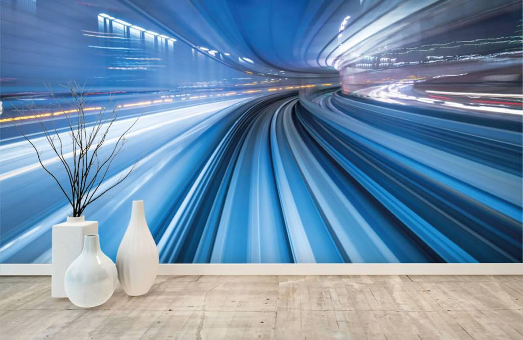 Overige - 3D effect van snelheid - Kantoor 6