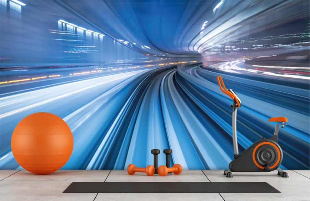 Overige - 3D effect van snelheid - Kantoor 8