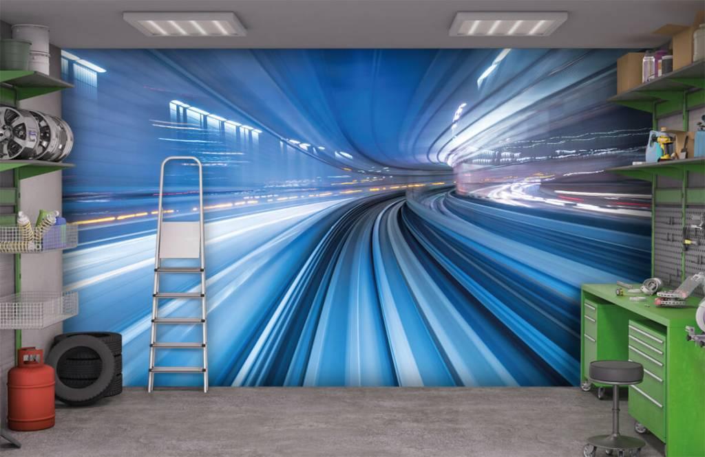 Overige - 3D effect van snelheid - Kantoor 9