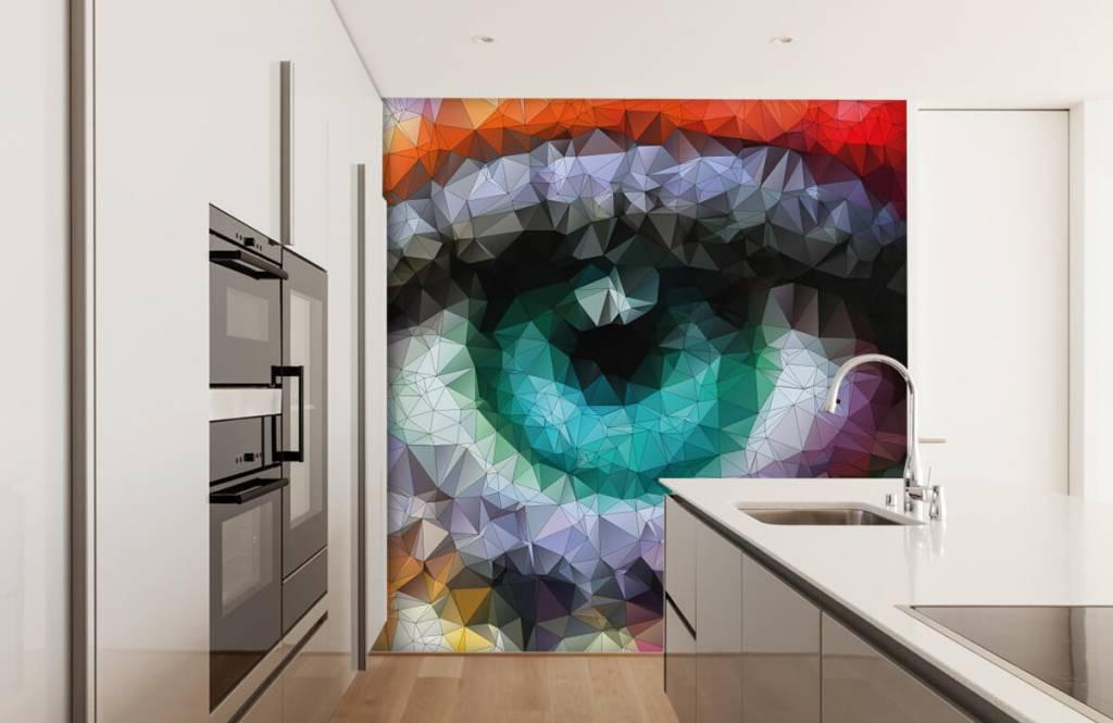 Gezichten & Portret - Abstract oog - Hobbykamer 3