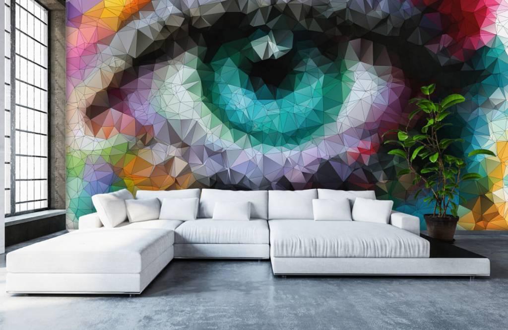 Gezichten & Portret - Abstract oog - Hobbykamer 5