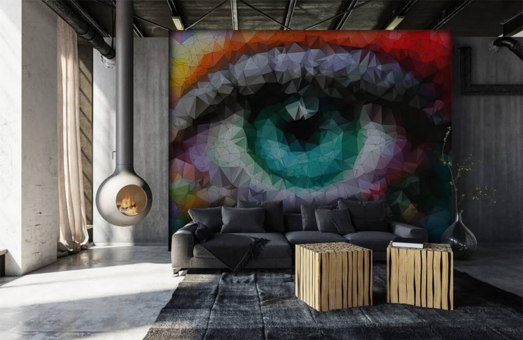 Gezichten & Portret - Abstract oog - Hobbykamer 6