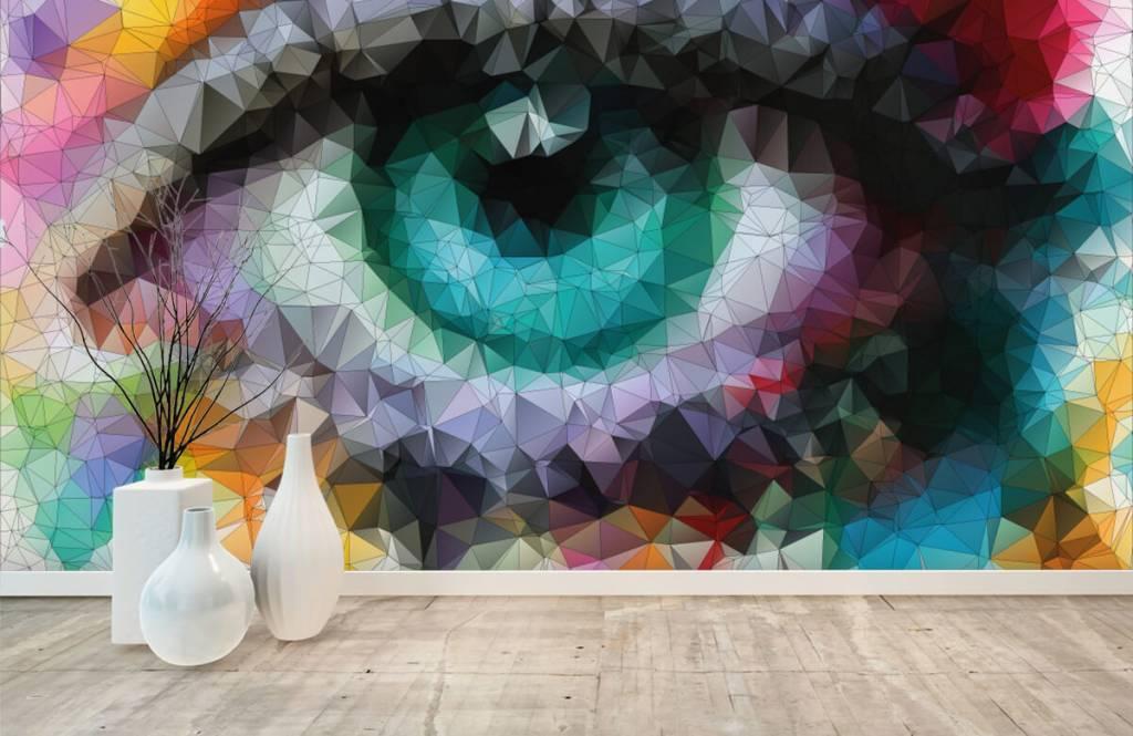 Gezichten & Portret - Abstract oog - Hobbykamer 8