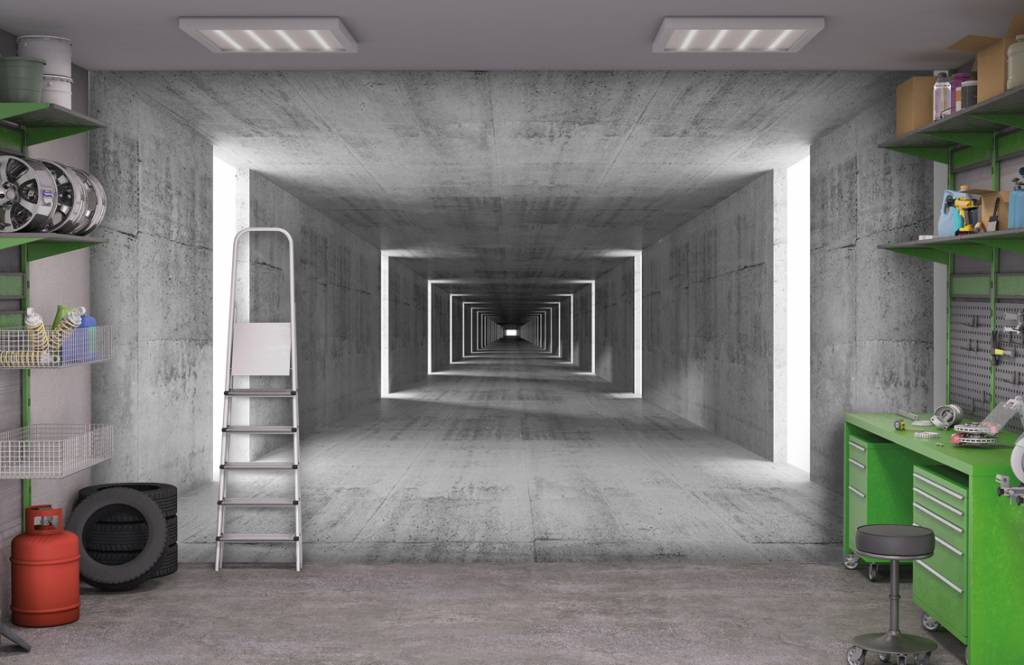 Overige - Betonnen tunnel - Kantoor 2
