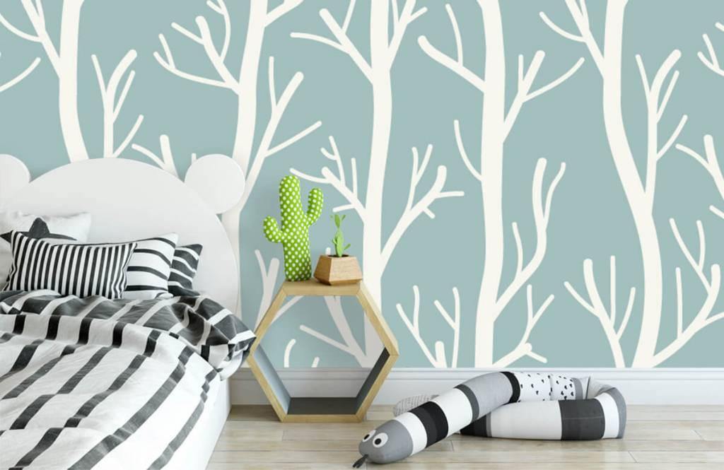 Overige - Bomen aan takken - Kinderkamer 3