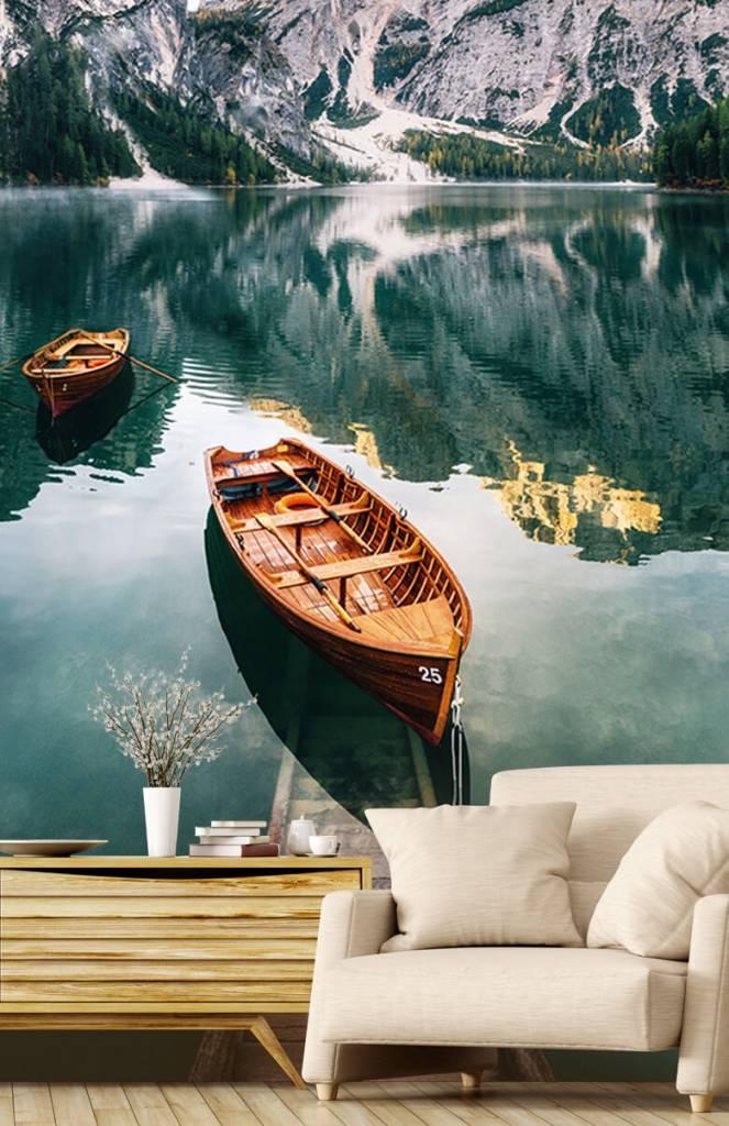 Meertjes en Wateren - Bootjes in Italiaans meer - Slaapkamer 2