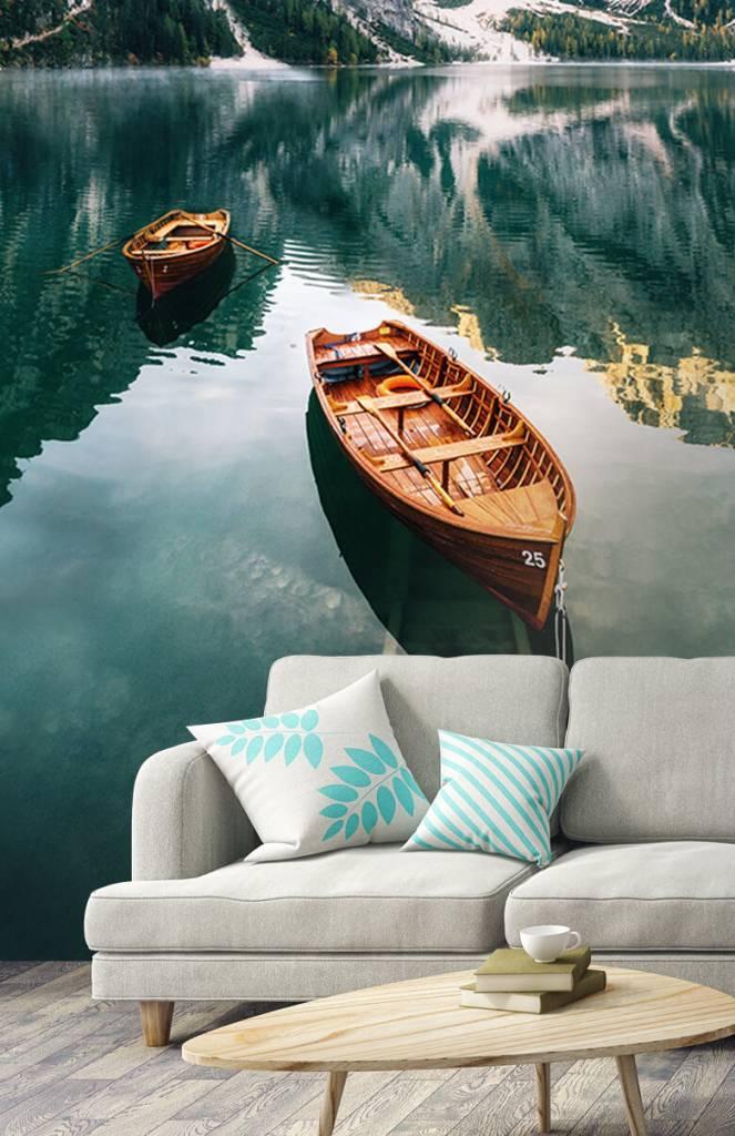 Meertjes en Wateren - Bootjes in Italiaans meer - Slaapkamer 3