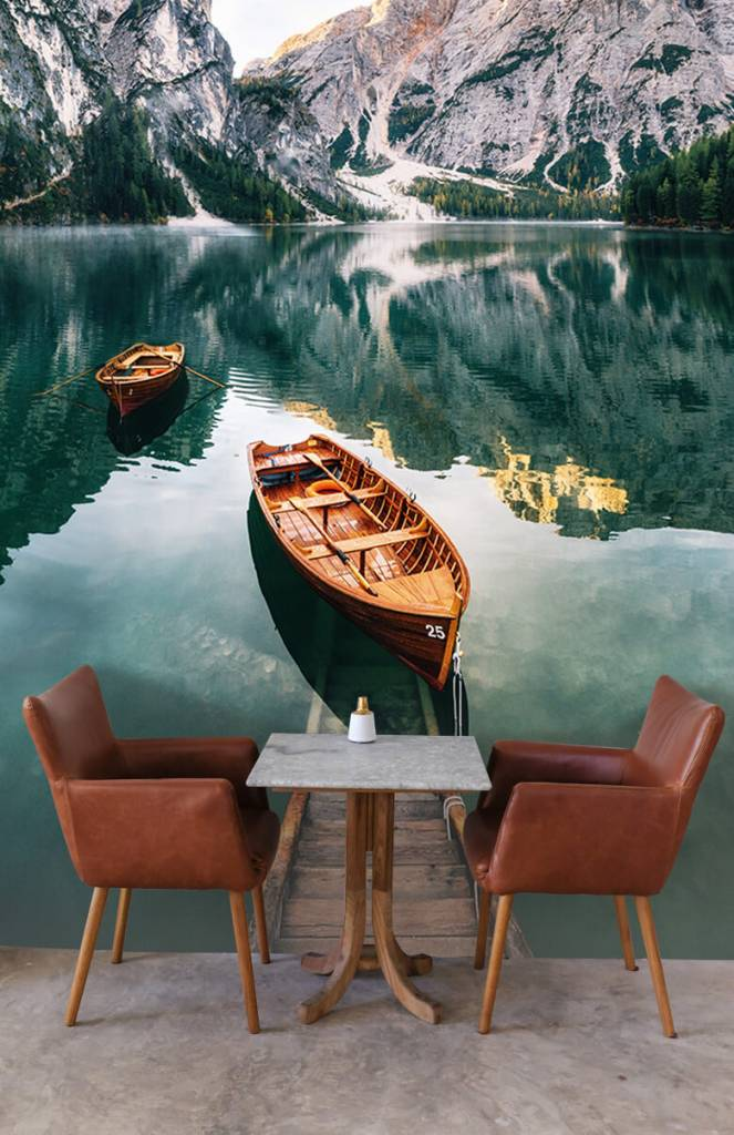 Meertjes en Wateren - Bootjes in Italiaans meer - Slaapkamer 4