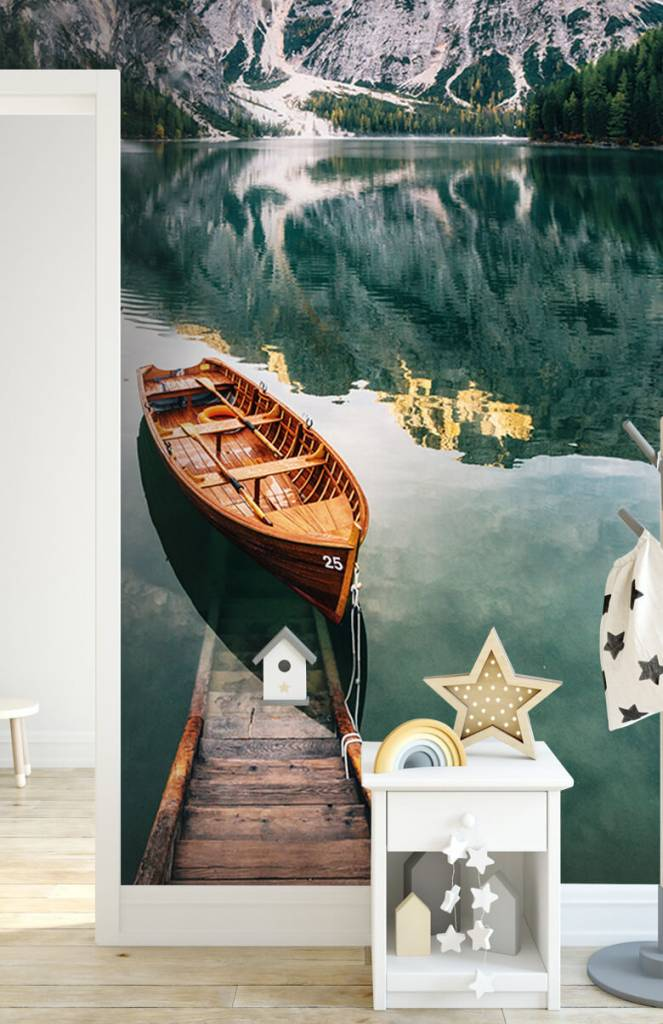 Meertjes en Wateren - Bootjes in Italiaans meer - Slaapkamer 5