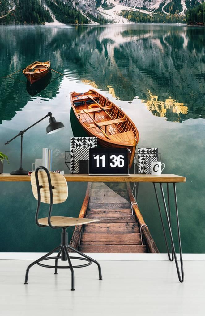 Meertjes en Wateren - Bootjes in Italiaans meer - Slaapkamer 6