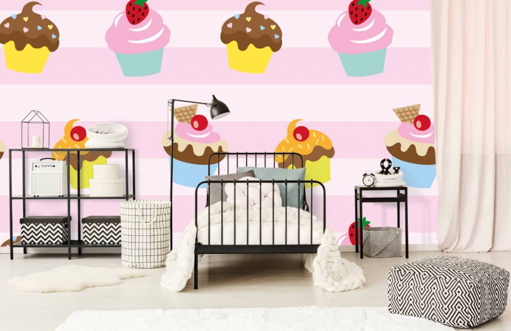 Overige - Cupcakes - Kinderkamer 2