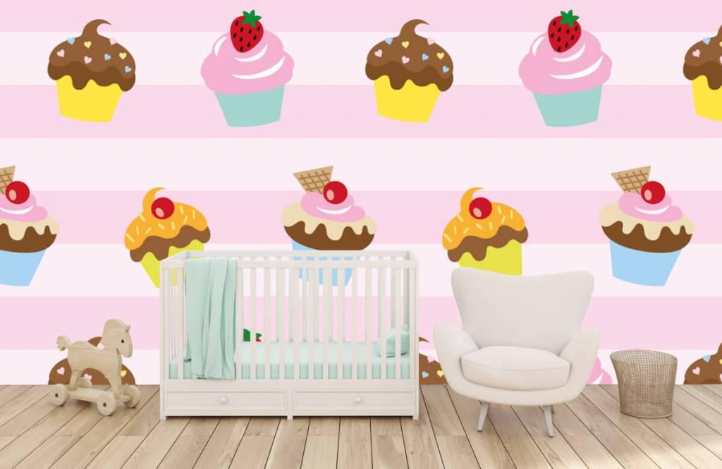 Overige - Cupcakes - Kinderkamer 5